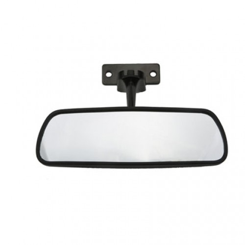 Universal Rear View Mirror on Yamaha Golf Cart Dash Kits