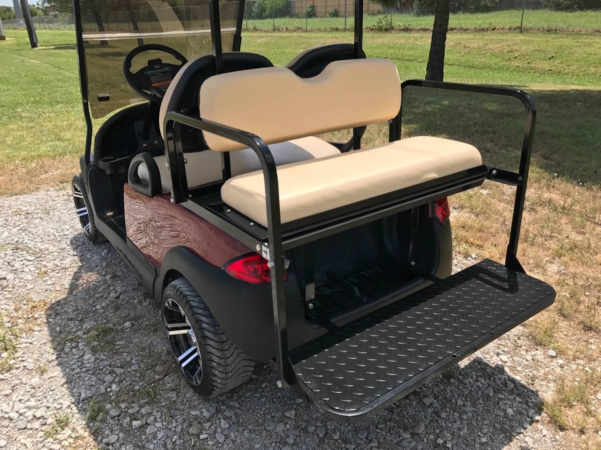 Jb Carts 04 Club Car Precedent Rear Flip Seat Kit