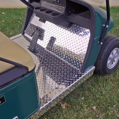 Jb Carts Diamond Plate Floor Cover Ezgo Txt 01 5 13