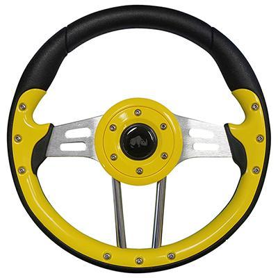 Jb Carts Aviator 4 Custom Steering Wheel Yellow